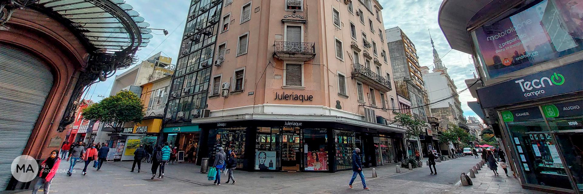 Edificio corporativo en alquiler: Sarmiento y Córdoba